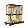 Double Mast Aerial Lift/Platform Height 6-12m/AC, DC, AC-DC for Option.