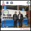 UAE customer visit our factory for checking shearing machine of QC11K-20x3200