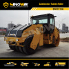 Combination tandem road roller