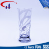 310ml Super White Glass Cup with Printed Color (CHM8045)