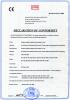 CE Certificate of T8 ( 8W 12W 15W 18W 22W 26W 28W )