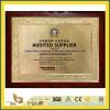 2015 SGS Certificate of Fujian Yuanhong Construction Materials Co., Ltd. with YEYANG Stone Factory
