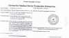 License for Medical Device Production Enterprises