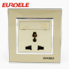 Universal model OEM material wall socket