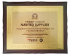 Certificates of Audited Supplier