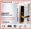 Touch Screen Digital Fingerprint Access Door Lock (HF6609)