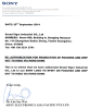 SONY production authorization letter2