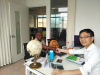 Discussing In Office With The Zambia Client