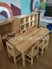 kid wooden chairs table sets
