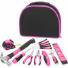 12Pcs Pink Ladies tool kit (FY1012B)