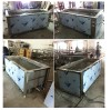 Industrial Ultrasonic cleaning equipments testing before delivery