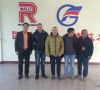 Welcome Poland Cusotmers visiting Shanghai Reliance Alu Co.,Ltd