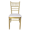 Metal Chiavari Chair for Hotel Wedding Banquet