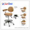real leather dentist stool