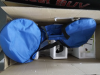 package with travel bag