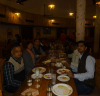 Having Dinner with Our Customer in India