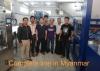 8000-10000bph complete bottled water Line in Myanmar
