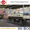 PLC control 10 wheels glass edging machine