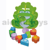 Shape Sort Blocks Frog