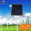 8W solar integrated street light