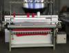 Auto collar and cuff knitting machine