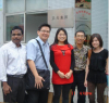 in November 2011 , Customer Panasonic visit our factory