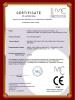 Acrylic bending machine CE certificate