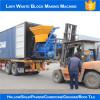 JS concrete mixer delivering to Algeria