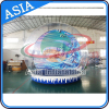 Inflatable Snow Globe with Backdrop for Christmas Decorations