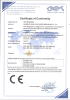 CE CERTIFICATE of SOLAR CHARGER