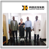 Exhibition and visit customers in Kenya