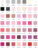 Ribbon color chart 1