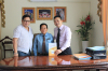Coorporate with Cambodia Foreign Trade Department