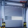 hard metal rolling door for freezer