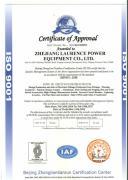 ZHEJIANG LAWRENCE ELECTRIC CO., LTD.