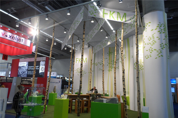 One Typical Booth