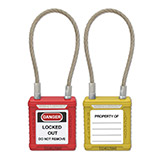 Wire Safety Padlock