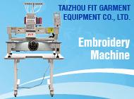 TAIZHOU FIT GARMENT EQUIPMENT CO., LTD.