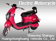Shaoxing Shangyu Huangzhonghuang Vehicles Co., Ltd.