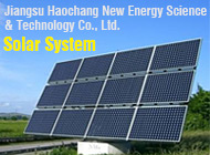 Jiangsu Haochang New Energy Science & Technology Co., Ltd.