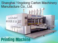 Shanghai Yingdong Carton Machinery Manufacture Co., Ltd.