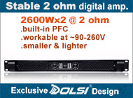 Guangzhou Dolsi Audio Equipment Co., Ltd.