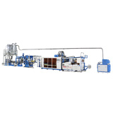 Automatic Recycling Plastic Cup Forming Machine Line Thermoforming Machinery