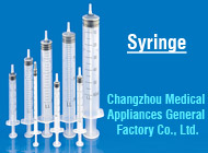 Changzhou Medical Appliances General Factory Co., Ltd.