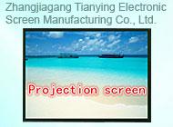 Zhangjiagang Tianying Electronic Screen Manufacturing Co., Ltd.
