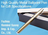 Fuzhou Remind Sunny Imp. & Exp. Co., Ltd.
