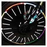 Reflective Bicycle Spokes