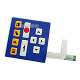Embossed Key Membrane Switch