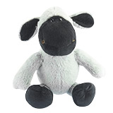 Grey Stuffed Plush Sheep Toy