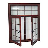 Aluminium Alloy Grill Casement Window